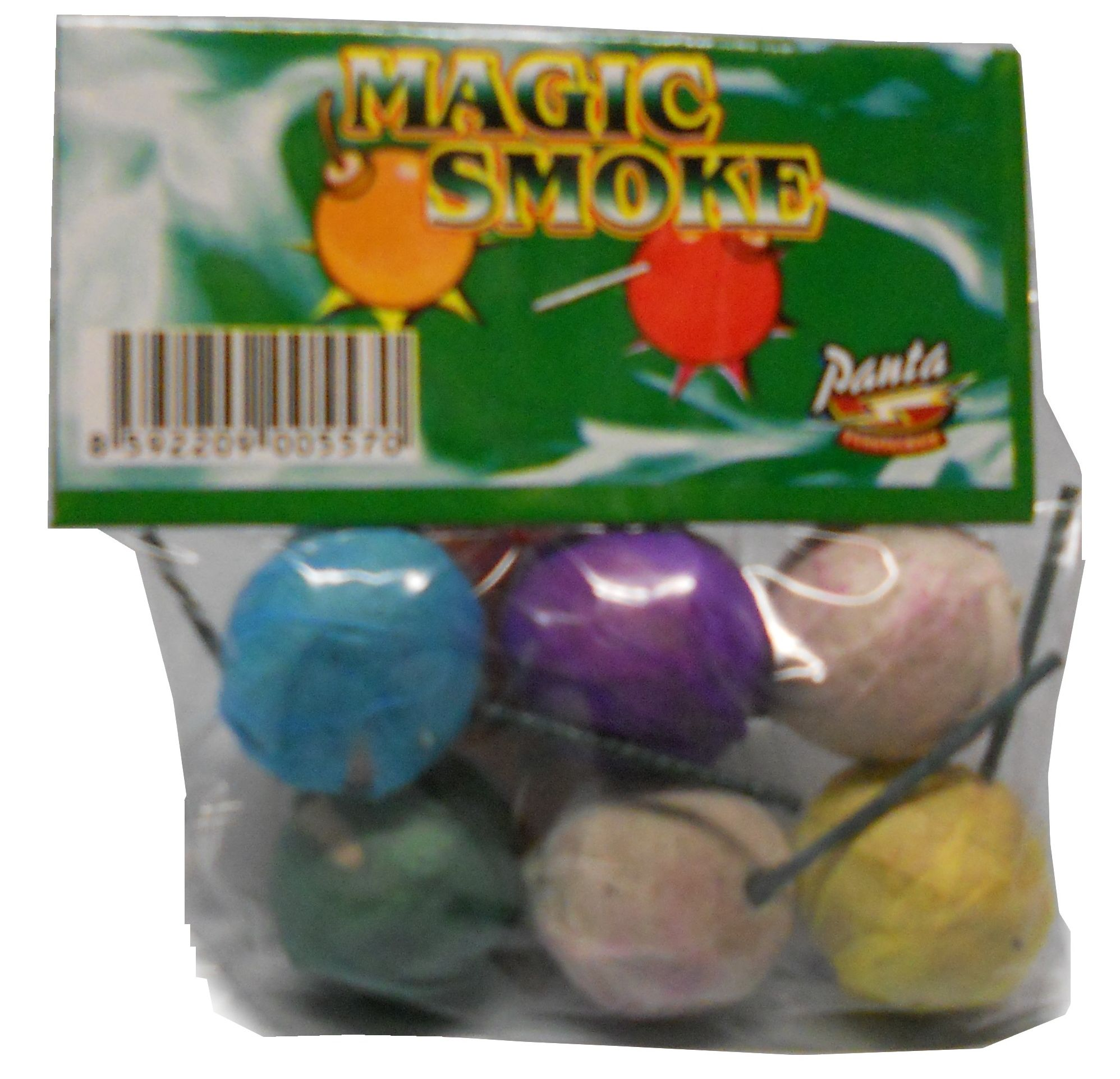 Dýmovničky Magic smoke 6 ks -