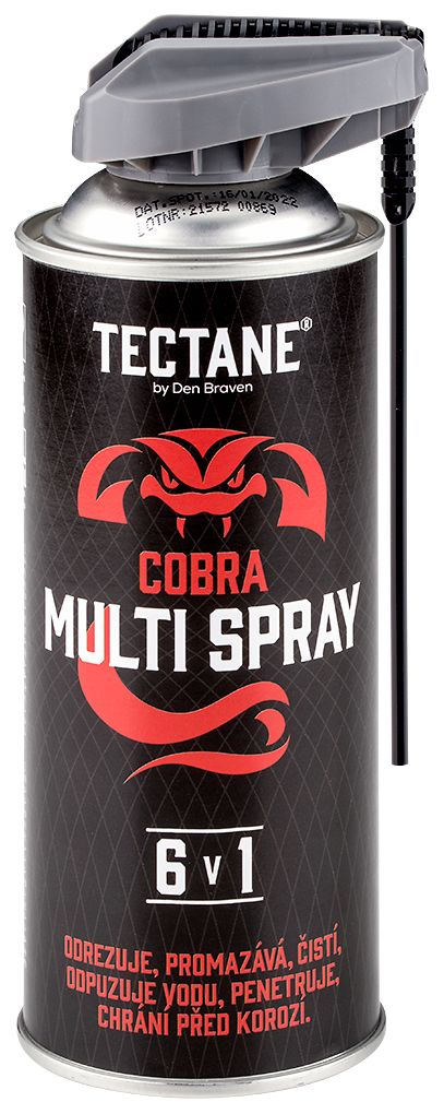 Mazivo multi spray 6v1 COBRA 400 ml -